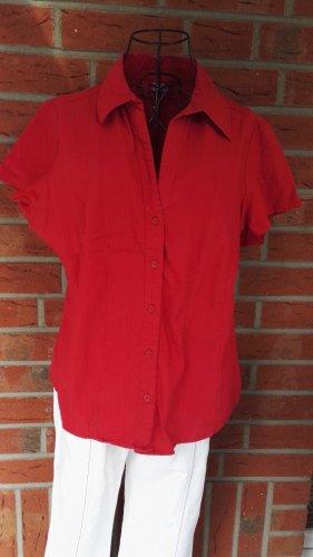 Biaggini Camicia blusa rosso scuro