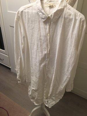 H&M Camicetta lunga bianco sporco