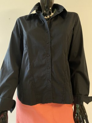 Art To Be Camicia blusa nero Cotone