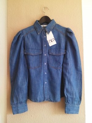 Hemdbluse aus Jeans, Größe M, neu