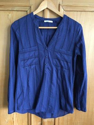 edc by Esprit Chemise à manches longues bleu