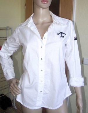 NZA (New Zealand Aukland) Long Sleeve Shirt white