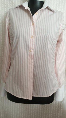 Rocco Barocco Shirt Blouse white-pink
