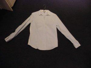 Alexander Wang for H&M Camicia blusa bianco-azzurro Cotone