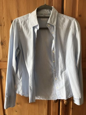 Brookshire Shirt Blouse white-light blue