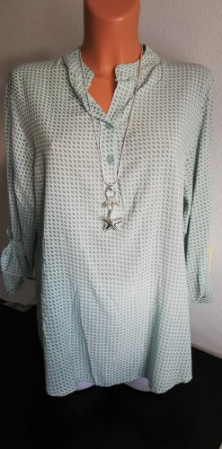 Made in Italy Blouse longue vert menthe