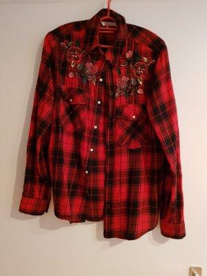 Zara Hemdblouse rood