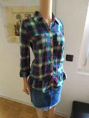 Hollister Blusa-camisa multicolor Algodón