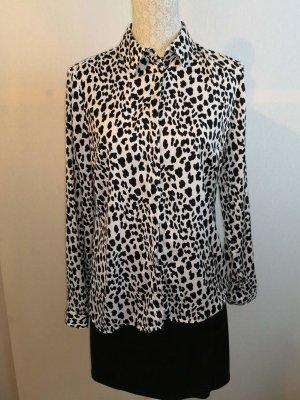 Orsay Camicia blusa bianco-nero