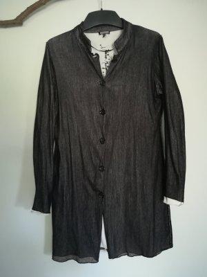 Kenny S. Lange blouse zwart-wit Katoen
