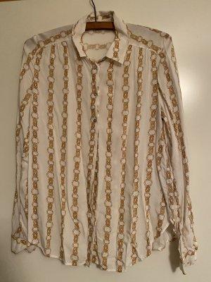 Hemdbluse mit Ketten Muster