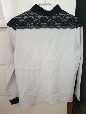 Jordan Colletto camicia bianco-nero