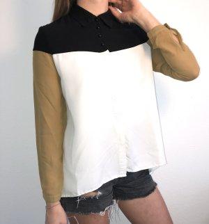 Hemdbluse mit transparenten Ärmeln l Volcom