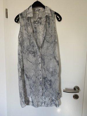 Collezione Cols de blouses blanc-gris clair