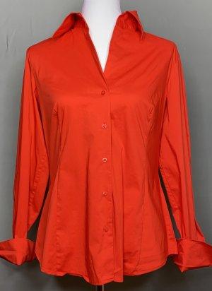 Hemdbluse orangerot Gr.42 von Esprit