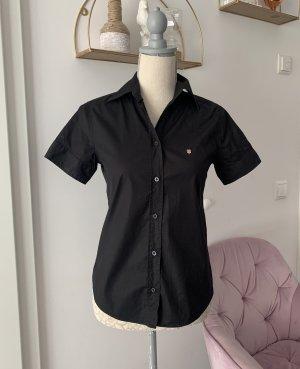 Hemdbluse schwarz Gant XS