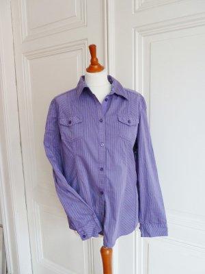 Hemdbluse violet von Cecil