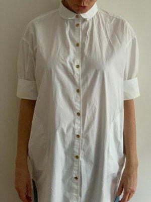 Acne Studios Koszulowa bluzka biały Bawełna