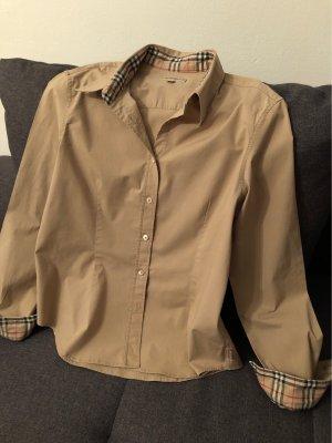 Burberry Camicia a maniche lunghe beige