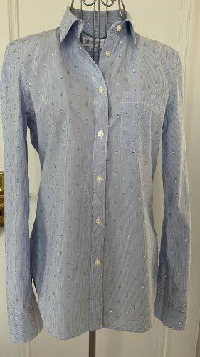 Gap Shirt Blouse azure cotton