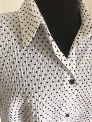 Surprise Shirt Blouse white-black