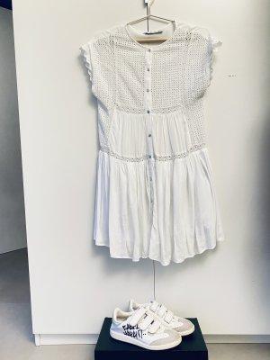 Zara Abito blusa camicia bianco