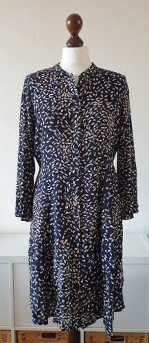 Pieces Vestido tipo blusón multicolor Viscosa