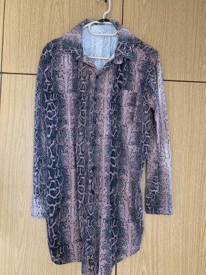Missguided Abito blusa camicia multicolore