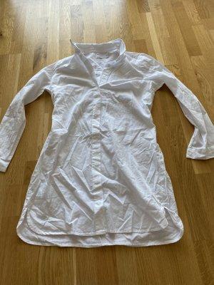 Asos Robe chemise blanc coton