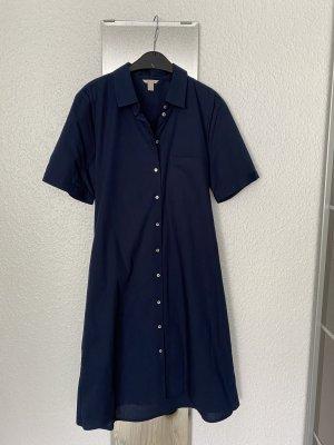 Esprit Robe chemise bleu foncé