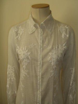 Hemdblusenkleid bestickt von Paul Smith