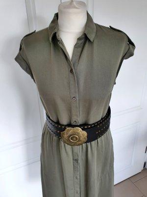 Hemdblusenkleid Boss Kleid grün 36