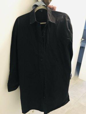 COS Koszulowa sukienka czarny Bawełna
