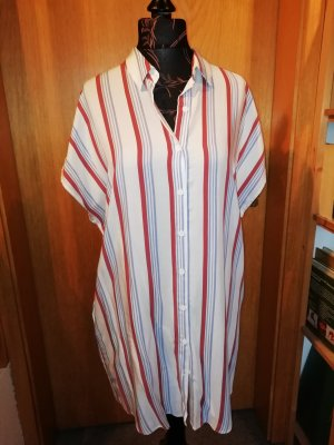 Pull & Bear Shirtwaist dress multicolored cotton