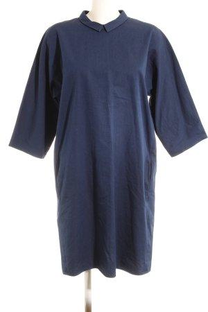Hemdblusenkleid dunkelblau Casual-Look