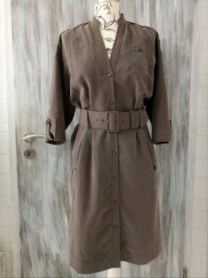 Hemdblusenkleid ESPRIT Collection, khaki, Gr. 36