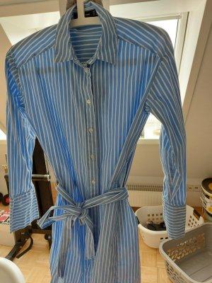 Hallhuber Abito blusa camicia azzurro