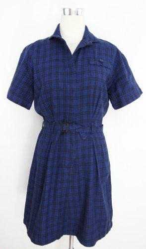 Hemdblusenkleid Gr.S Kariertes Kleid Karokleid