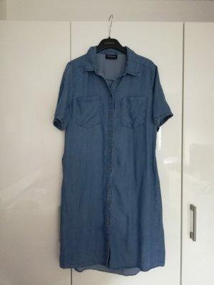Gina Shirtwaist dress blue