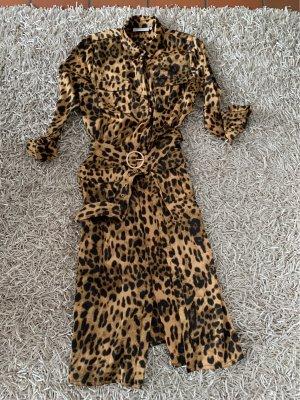 copenhagen muse Blouse Dress beige-black