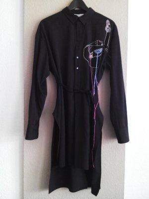 Hemdblusenkleid mit Ballerina aus 100% Wolle, Studio Collection, Größe XS-S, neu