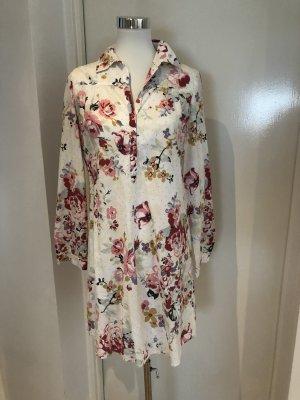 Hemdblusenkleid mit Blumenprint