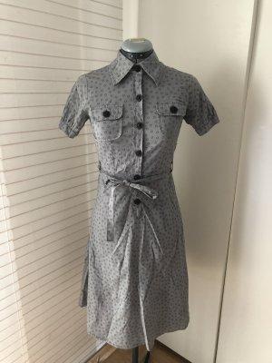 Hemdblusenkleid mit Muster, Skaterkleid, rockabilly, XS/ 34