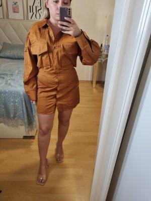 Hemdblusenkleid Mit Rückenausschnitt