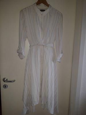 Mint Velvet Shirtwaist dress white-black