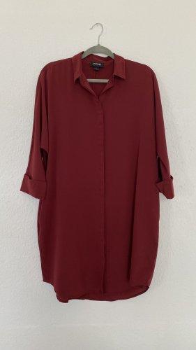 Monki Hemdblousejurk veelkleurig Polyester