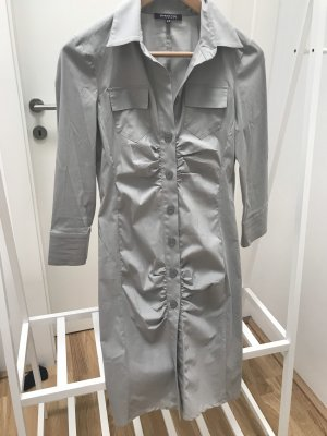 Patricia Pepe Robe chemise gris clair coton