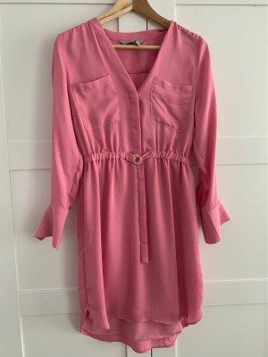 Hemdblusenkleid pink
