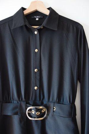 Versace Jeans Couture Shirtwaist dress black viscose