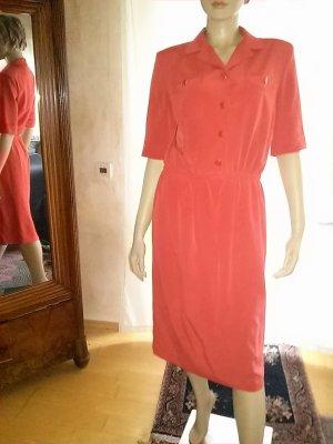 Brunetti Koszulowa sukienka czerwony
